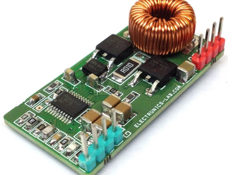 50V to 5V @7A Synchronous Buck (Step-down) Converter