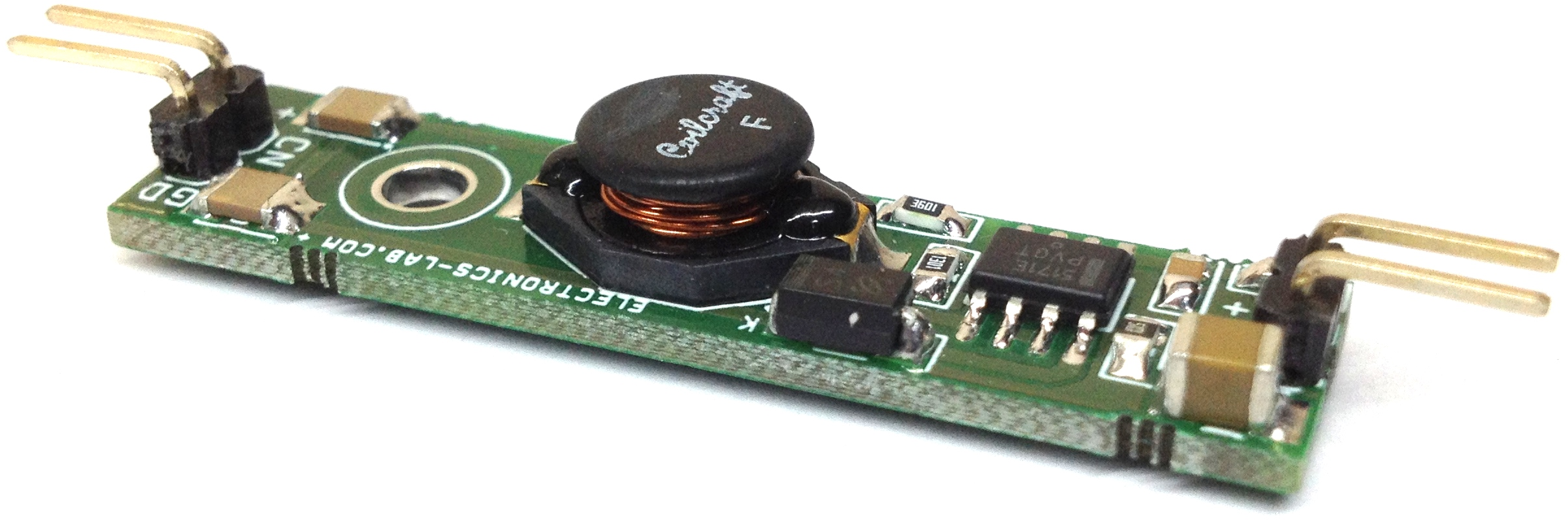 Single 18650 LiPo Battery to 5V Boost Converter