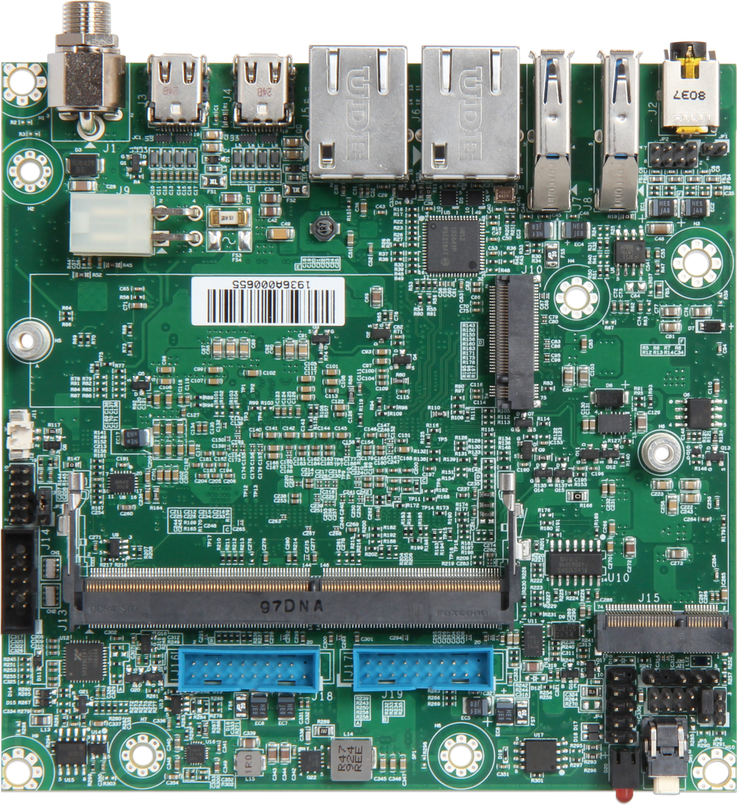 NANO-6051 built with Intel® 8th Generation Core™ i7/i5/i3 processors