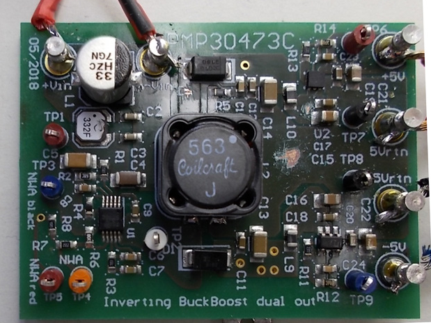 PMP30473 – Lowest noise auxiliary dual output (+5 V and -5 V) power supply reference design