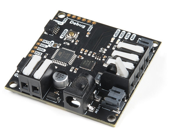 SparkFun launches SparkX Qwiic Compatible Board to Enable Stepper Motor Control