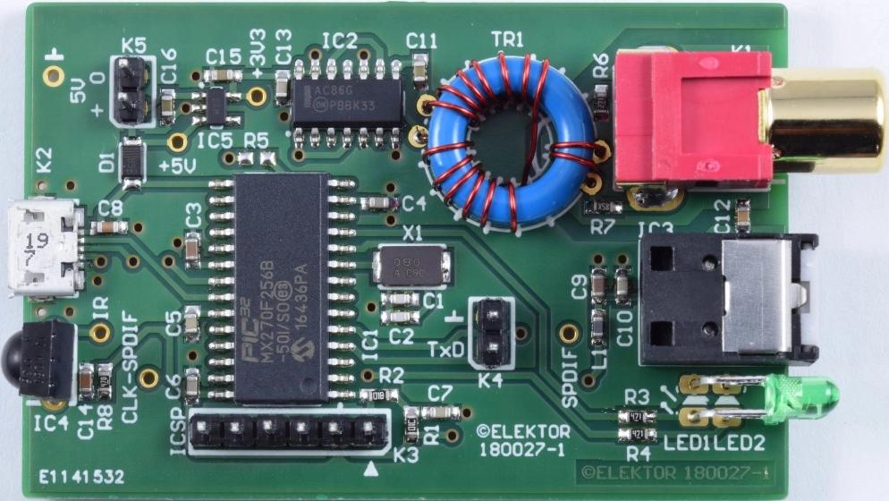 Elektor Article: USB-SPDIF Interface