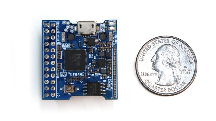 Extremely compact BreadBee has 1GHz Arm Cortex-A7 SBC and on-board Ethernet
