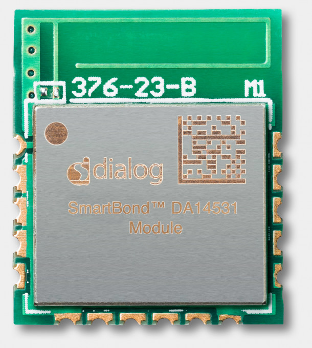 DA14531 SmartBond TINY™ Module is the Bluetooth® low energy solution that will power the next 1 billion IoT devices through ease of use