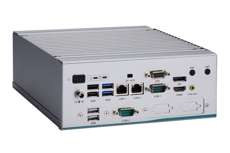 Axiomtek's High-performance Fanless Embedded System with Front-accessible Design – eBOX640-521-FL