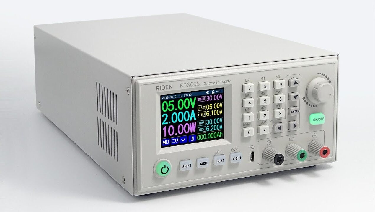 RD6006 Digital Control Switch Adjustable Power Supply starts from just $57