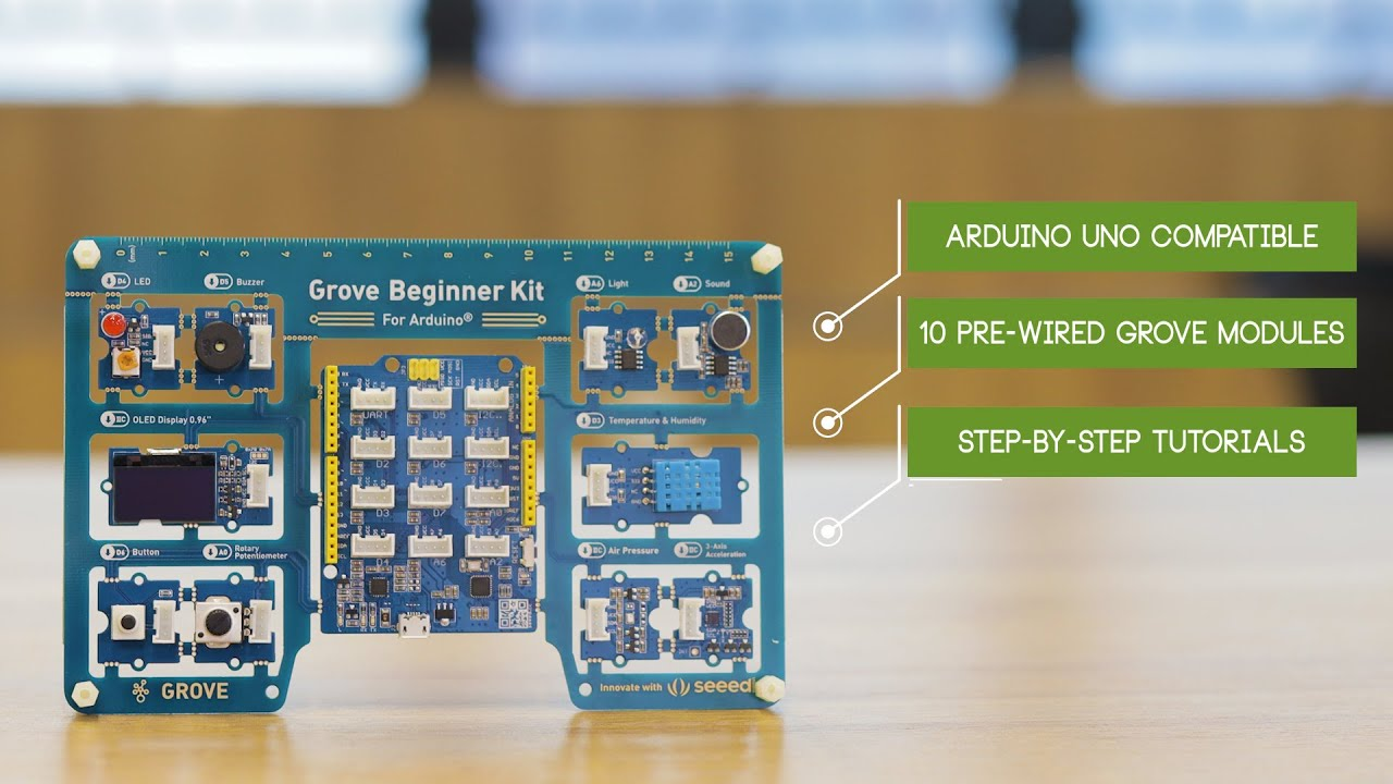 Seeed Launches an innovative All-in-one Grove Beginner Kit for Arduino