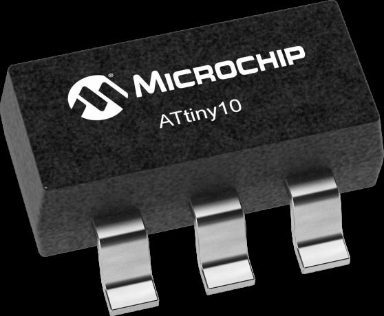 ATtiny10 Programming with Platformio and Terminal
