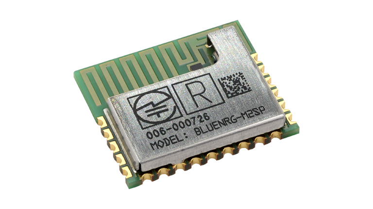 BlueNRG-M2 – Very low power application processor module for Bluetooth® low energy v5.0