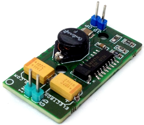 3V To 5V Boost DC-DC Converter using MAX711