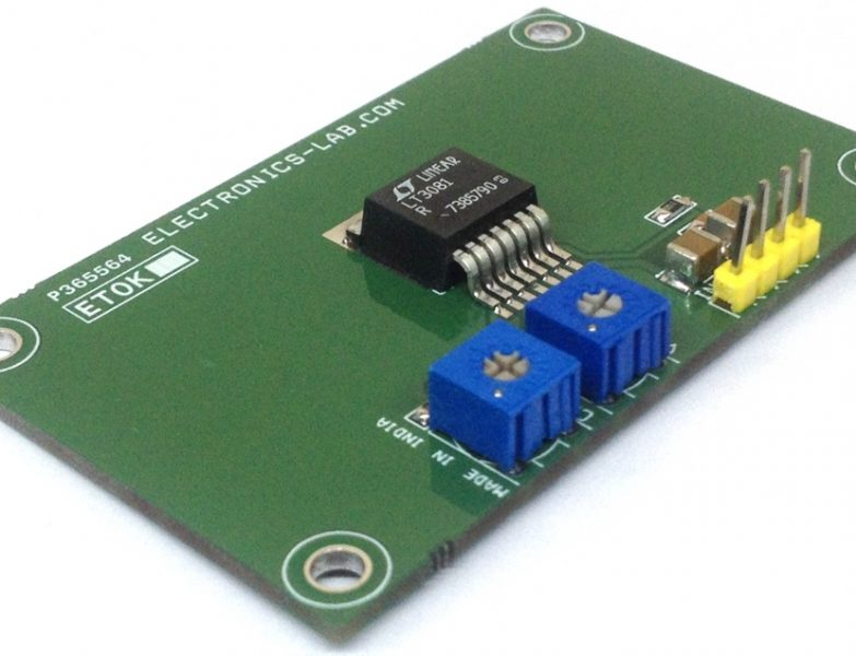 0-6V @ 1.5A Adjustable Power Supply With Current Limit using LT3081
