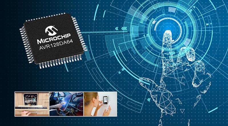 Microchip Introduces New AVR DA Microcontroller Family