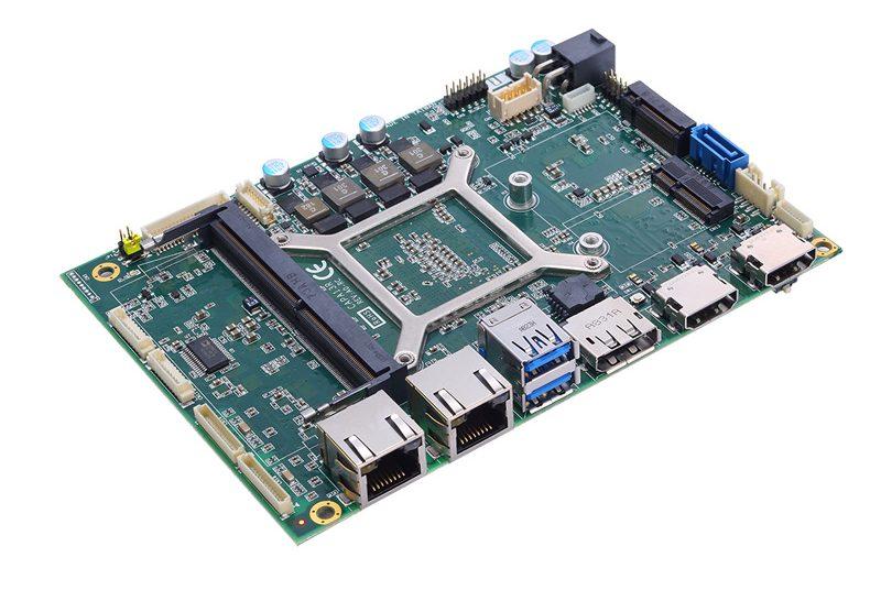 """Axiomtek's Quad-View 3.5"""" Embedded Board with AMD Ryzen™ Embedded V1807B/V1605B Processor – CAPA13R"""