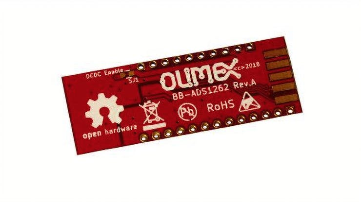 Latest Olimex board brings 10-channel 32-bit to OSHW builds