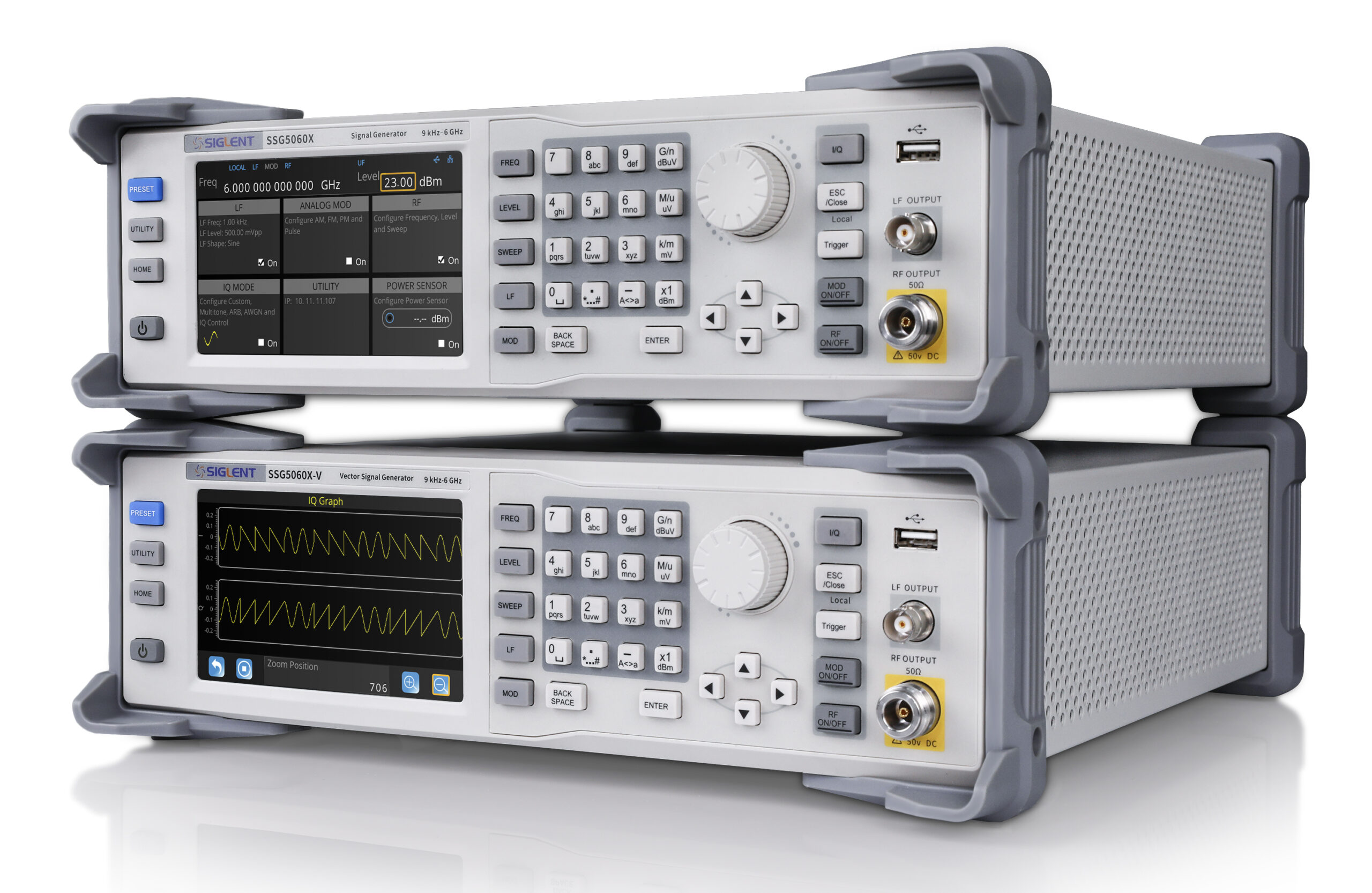 SSG5000X Series 6GHz RF Analog/Vector Signal Generators