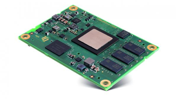 Sitara AM65xx processor module has real-time capable Ethernet