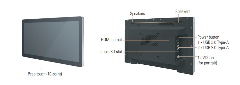 Axiomtek Introduces Intel® SDM-based 15.6-inch Modular Panel PCs for Retails
