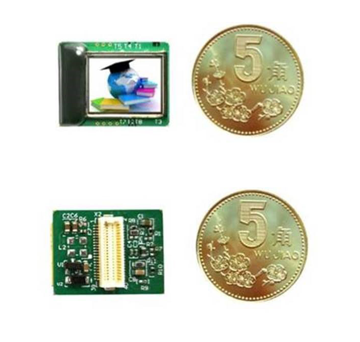 0.39-inch silicon-based OLED micro display has 1024 * 768px resolution