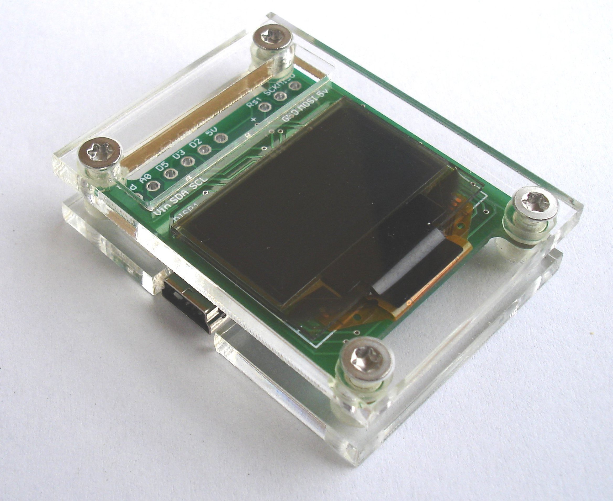 A new ATMega328p board with onboard OLED Display