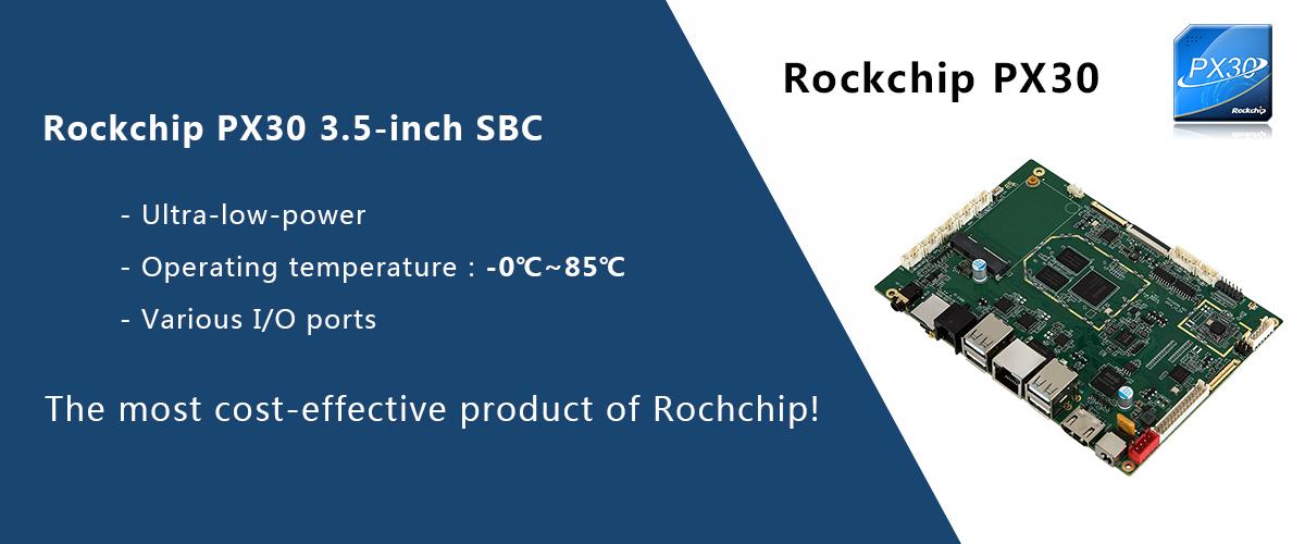 3.5'SBC-PX30-TVI3329A – 3.5-inch SBC features Rockchip PX30