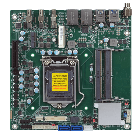 WIN Enterprises Announces IoT Gateway mini-ITX Platform with 9th/8th Gen Intel® Core™ Processor