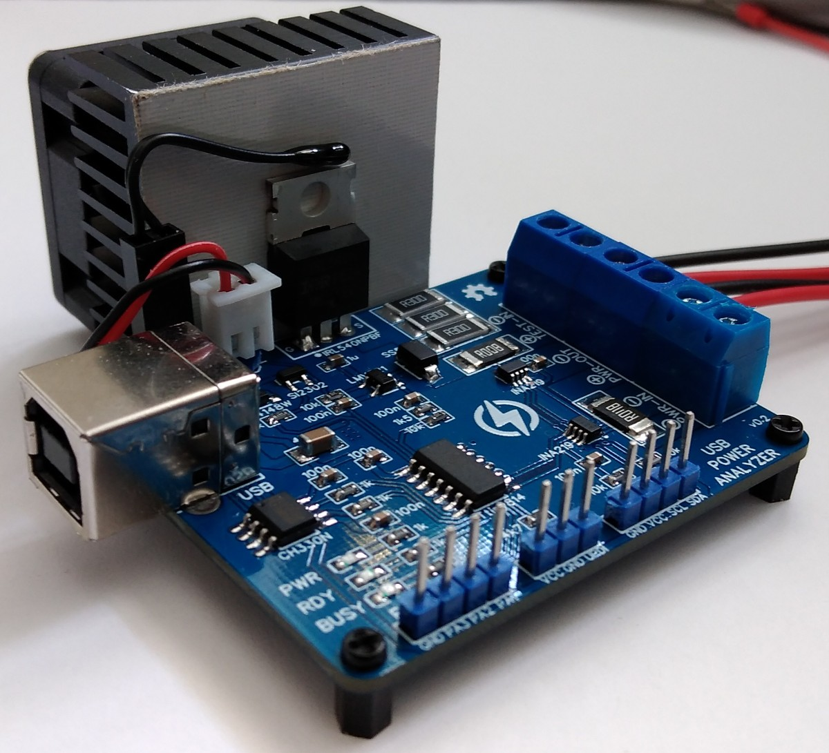 ATtiny814 Power Analyzer