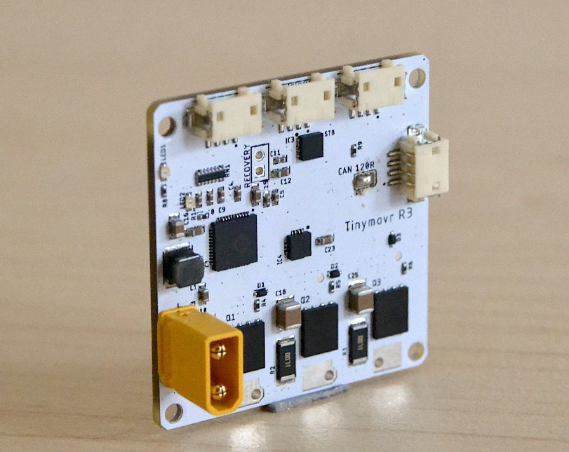 Tinymovr BLDC Motor Controller Features Qorvo PAC5527