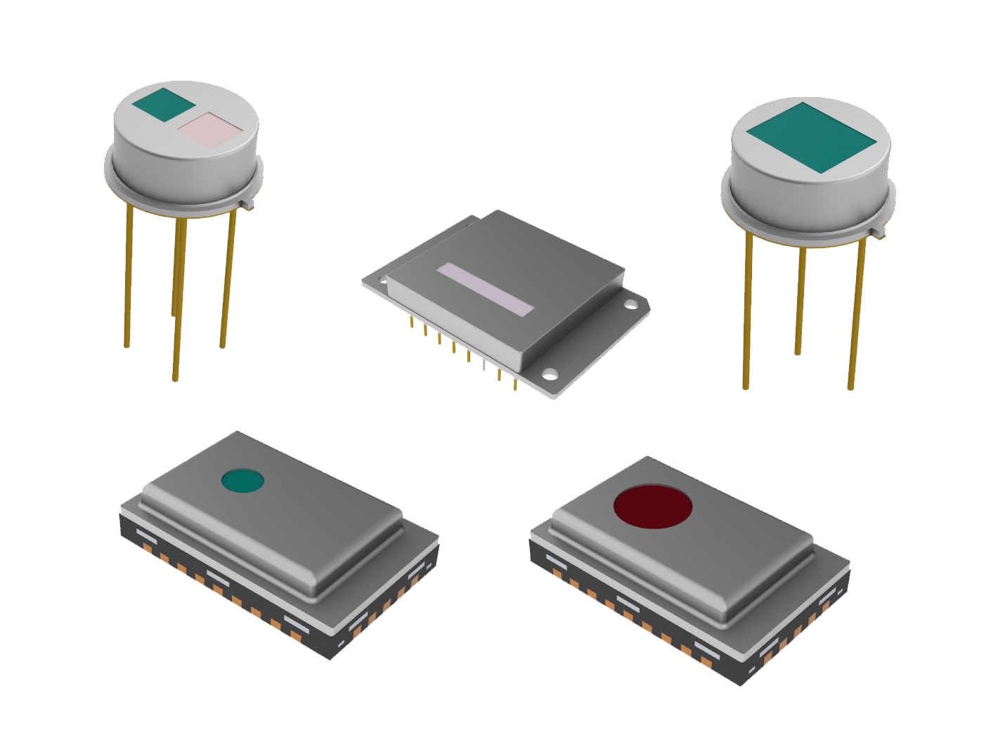 Pyroelectric passive infrared (PIR) sensors allow for easy integration, configuration and more design-in possibilities