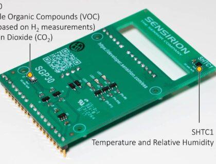 Sensirion Gas/Temp/Humidity Sensor Kit