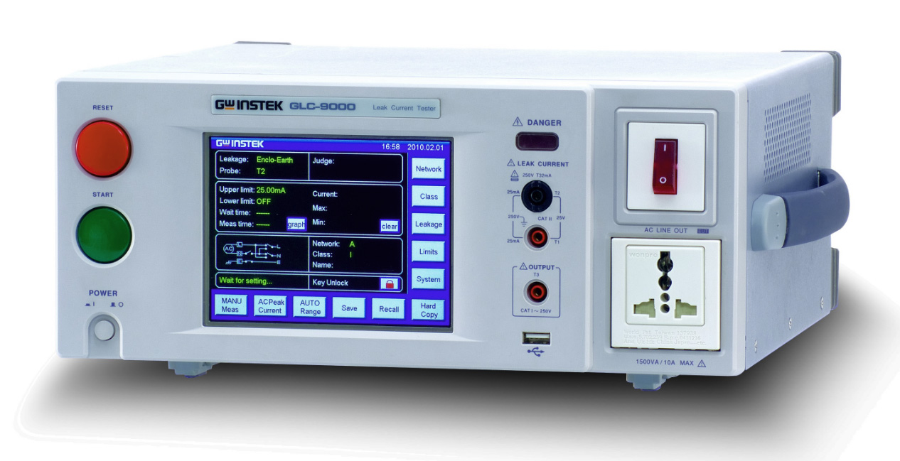 GWInstek GLC-9000 Leakage Current Tester