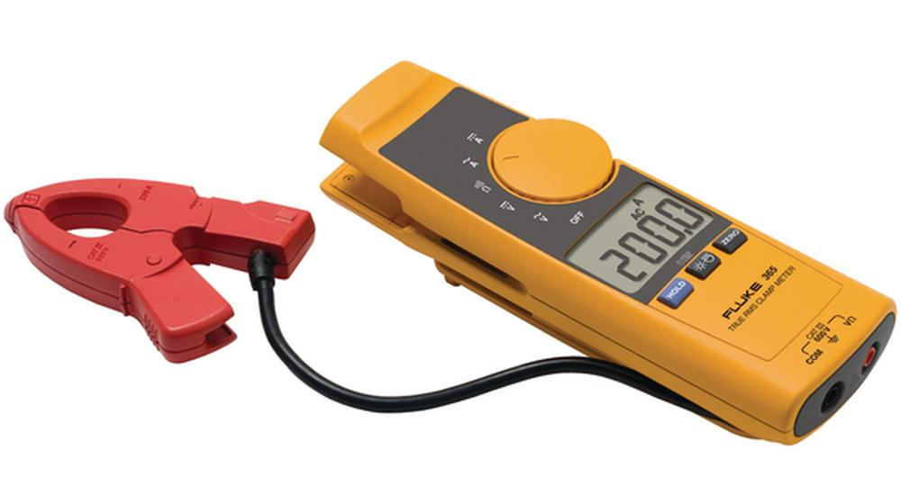 Fluke 365 – Industrial clamp multimeter with removable jaws