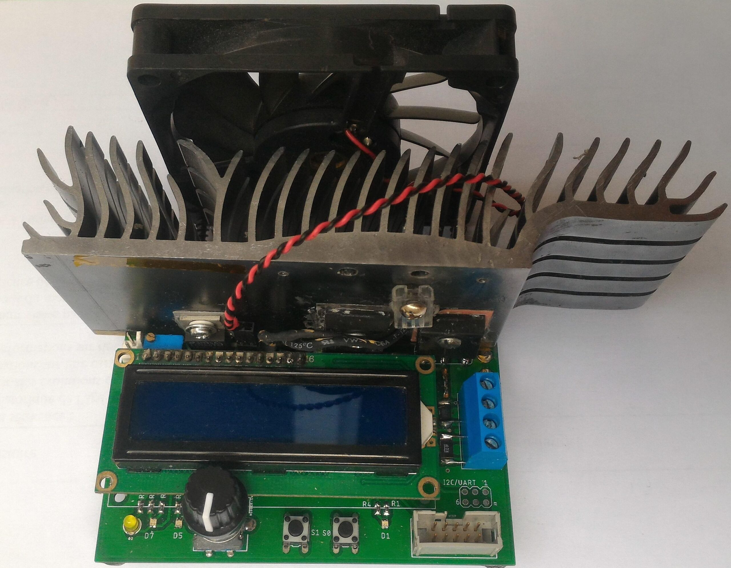 A DIY Electronic load for DC-DC converter characterization