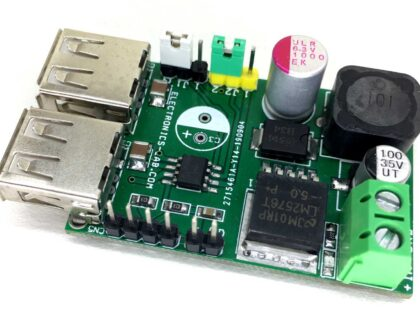 Dual USB Host/Hub Output with Constant Current Limit/Protection