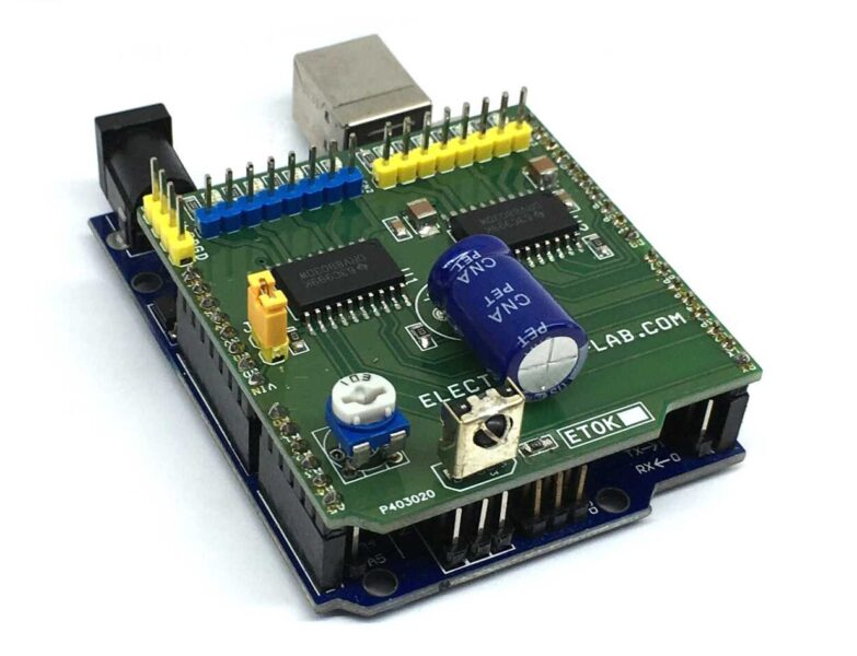 8 Channel Inductive Load Driver Arduino Shield