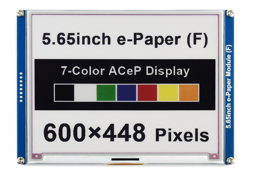 Meet the New Affordable Multi-Color E-Paper Display from Waveshare
