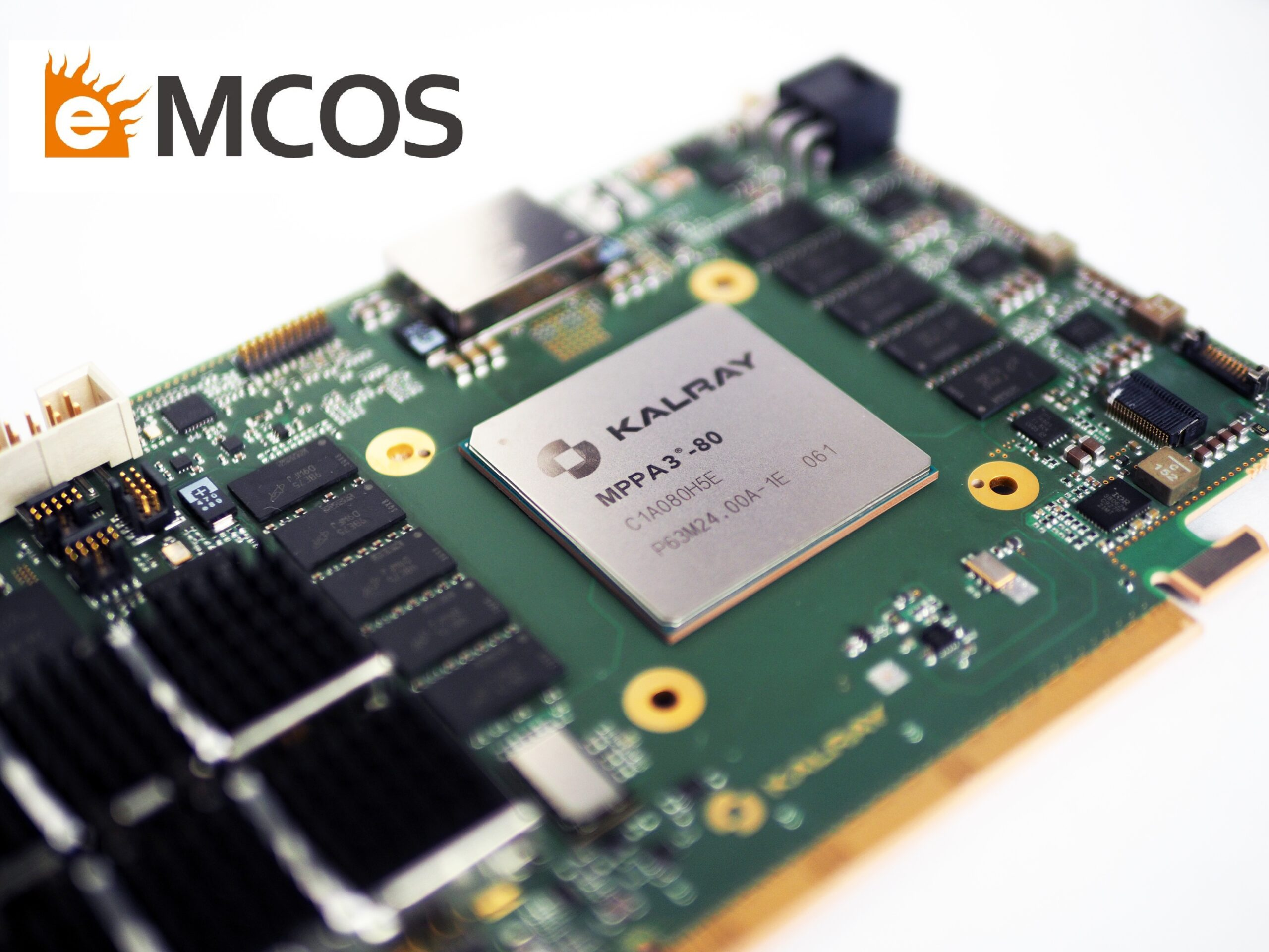 eMCOS® POSIX Commercial OS Supports Kalray's Coolidge™ Intelligent Processor for Mixed-Criticality Systems[1]