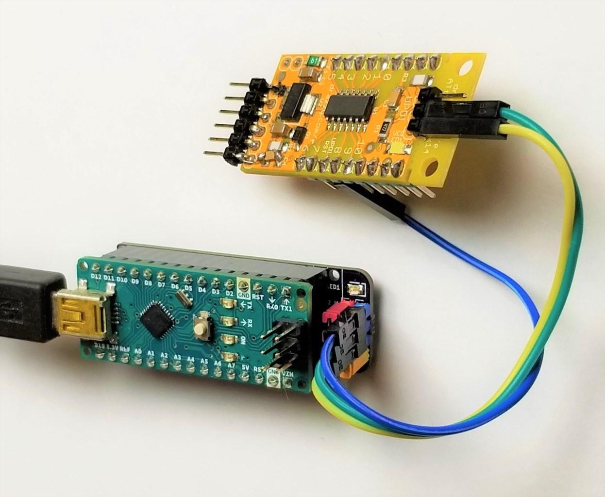 DIY Arduino Nano HV UPDI Programmer