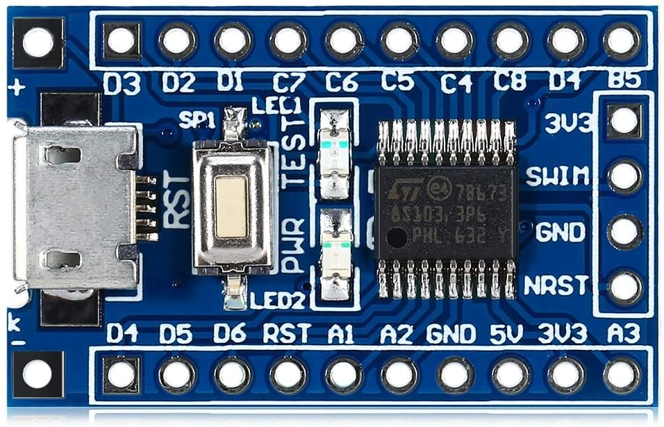 Getting Started with STM8S using STVD and Cosmic C Compiler