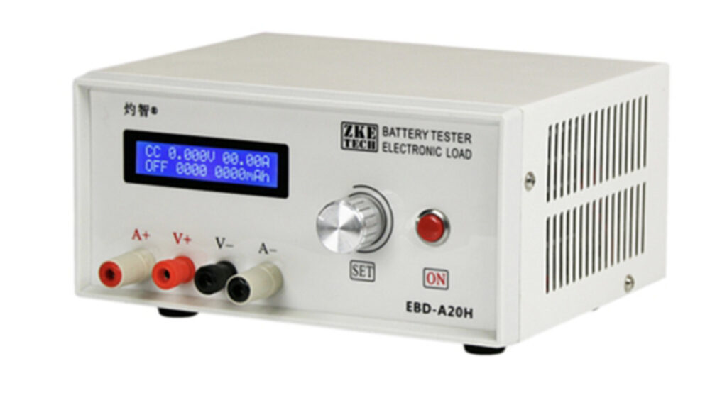 Meet the ZKETECH EBD-A20H DC Electronic Load/Battery Capacity & Discharge Tester/Power Supply Tester