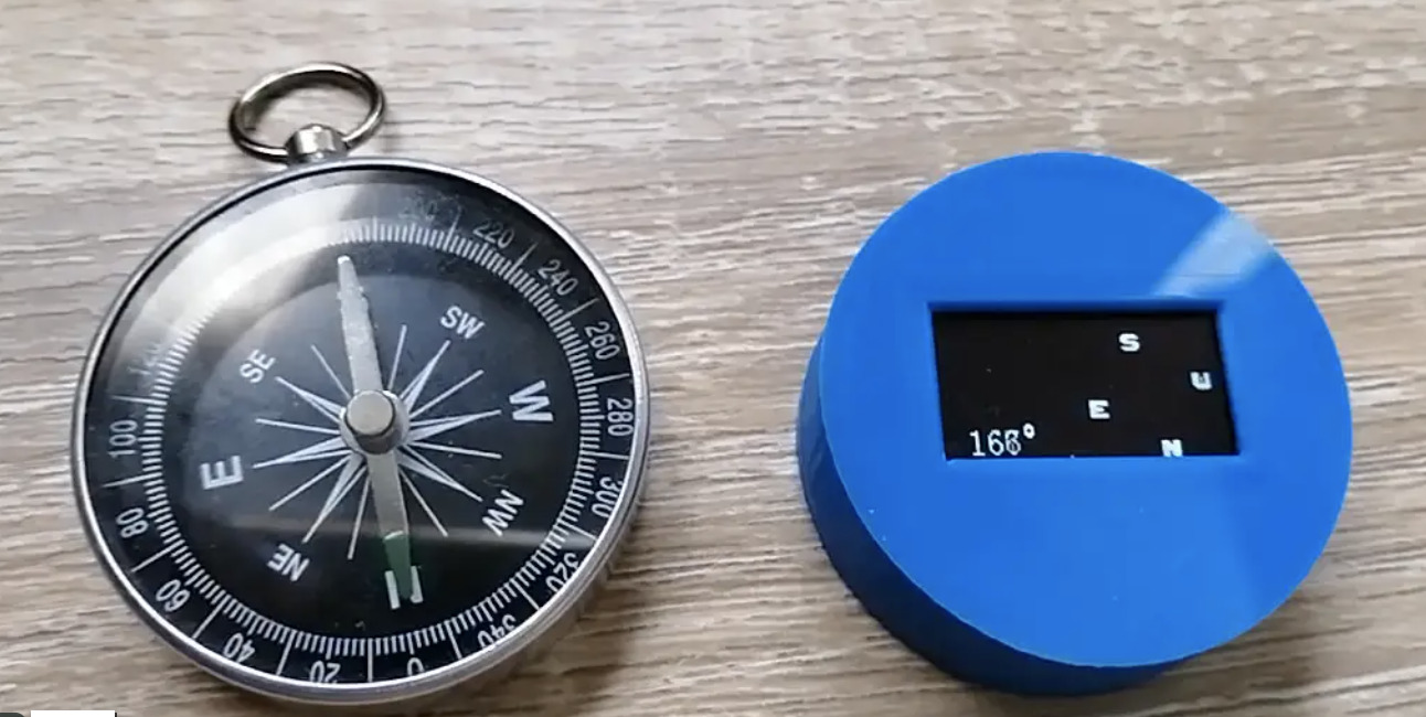 Use an ATtiny85 to Build Your Own Electronic Compass