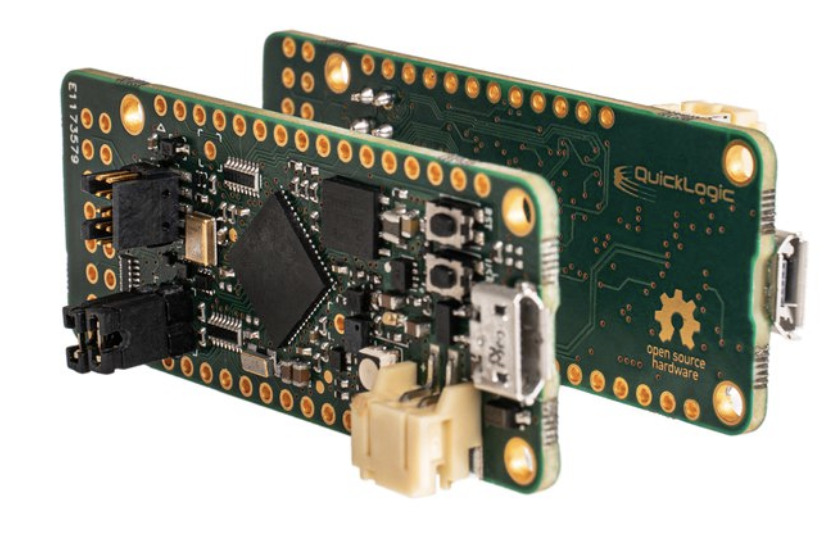 QuickFeather: Fully open source development board for the EOS S3 MCU with eFPGA
