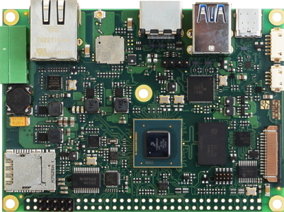 High-Performance Multimedia Single Board Computer with NXP i.MX 8M CPU