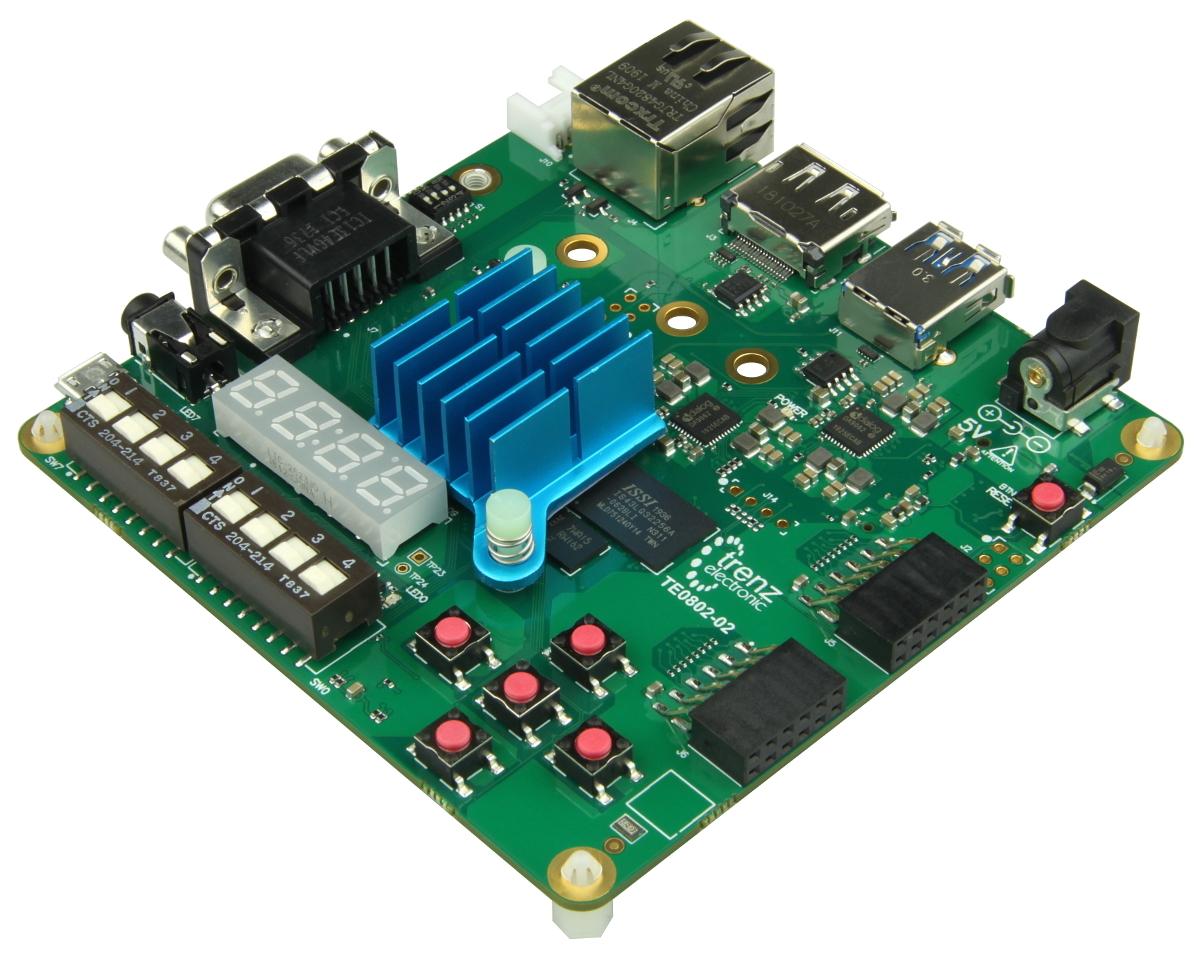 Trenz TE0802: Zynq UltraScale+ MPSoC Development Board