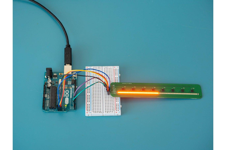 Super Bright Nixie-Like Linear Dot Display
