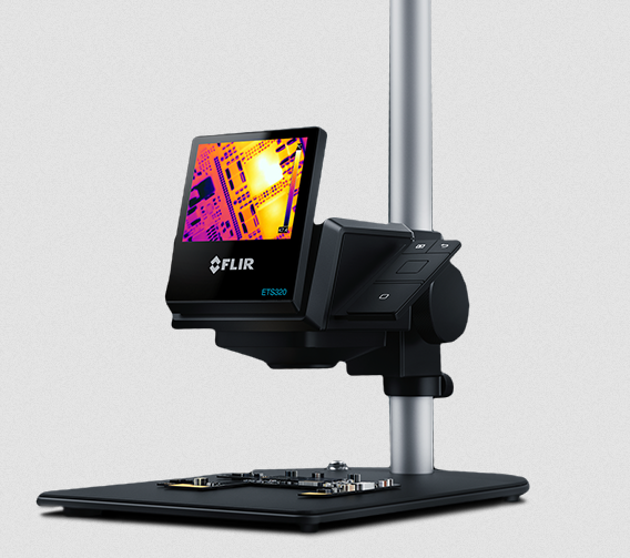 FLIR ETS320 – Non-Contact Thermal Imaging Camera Solution for Electronic Testing