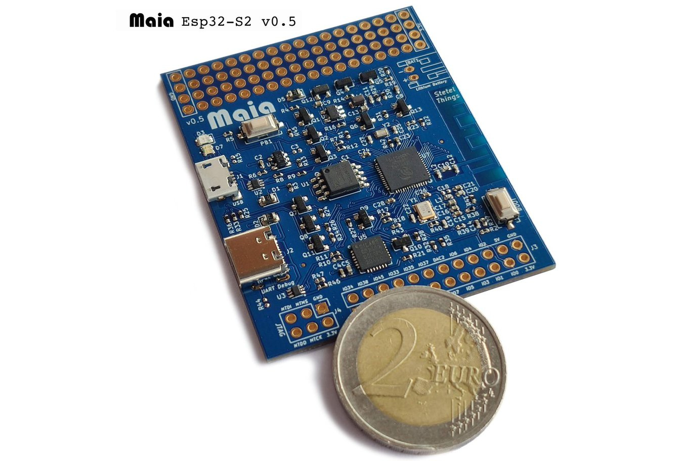 Meet the IoT-Ready, Esp32-based Maia Development Board
