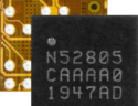 nRF52805 Bluetooth 5.2 SoC features a WLSCP, enhanced for small two layer PCB models