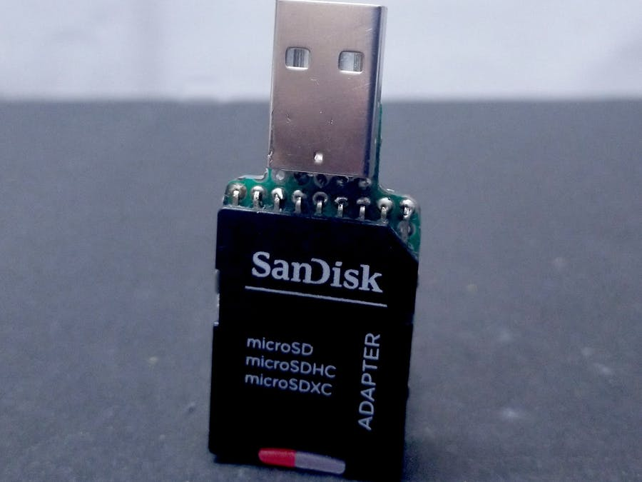 Wireless SD Card Reader using ESP8266
