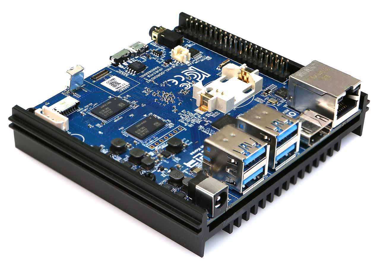 Hardkernel's Powerful Odroid-N2 Single Board Computer Gets an Upgrade – Odroid N2 Plus
