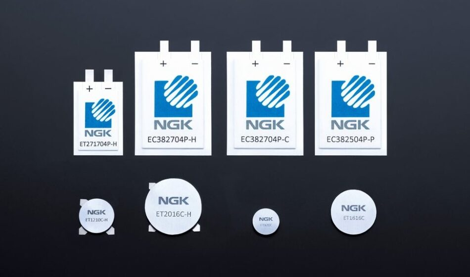NGK develops high heat resistance lithium-ion battery achieving an operating temperature of up to 105°C